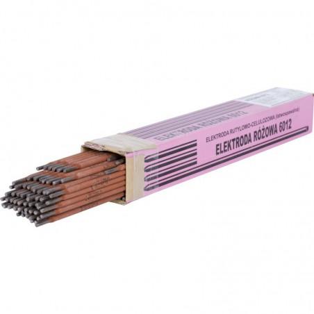 Elektrody rutylowo-celulozowe RÓŻOWE E6012 2,5/350/4,5kg