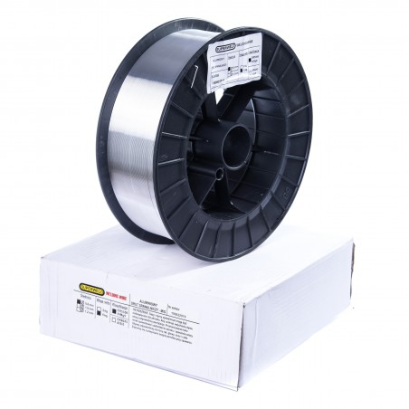 Drut spawalniczy MIG do aluminium 5356AlMg5 0,8mm 6kg SUPERWELD