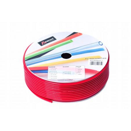 Przewód poliuretanowy MAGNUM 12x8 mm czerwony