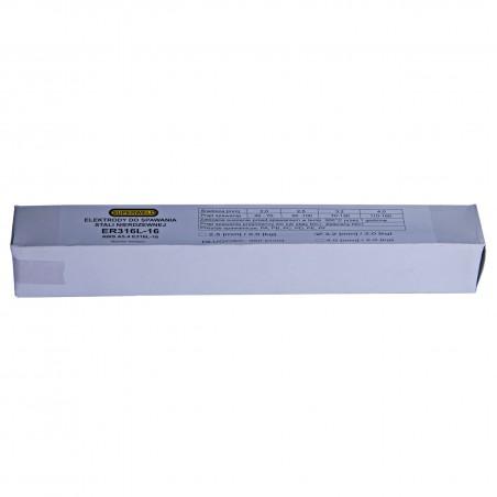 Elektrody do stal kwasoodpornej INOX 316L Ø2.5 2kg SUPERWELD