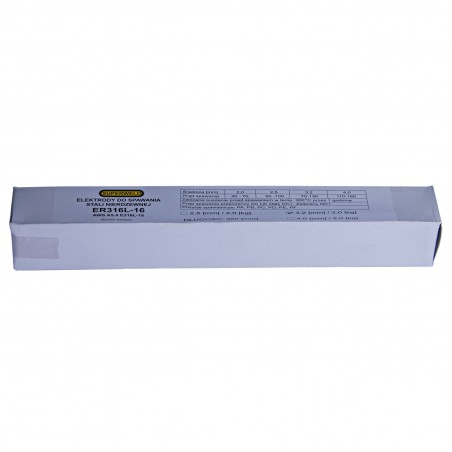 Elektroda nierdzewna 316L Ø 3.2x350 2kg SUPERWELD