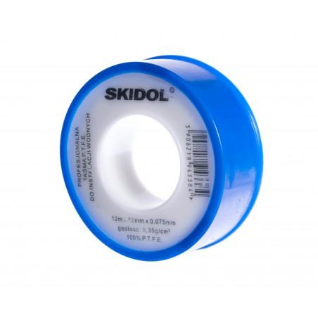 Taśma teflonowa do instalacji wodnych i pneumatycznych 12 mm