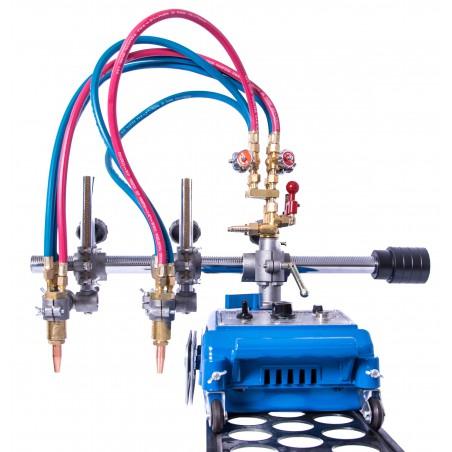 Półautomatyczna przecinarka gazowa PPA-CG100+SZYNY