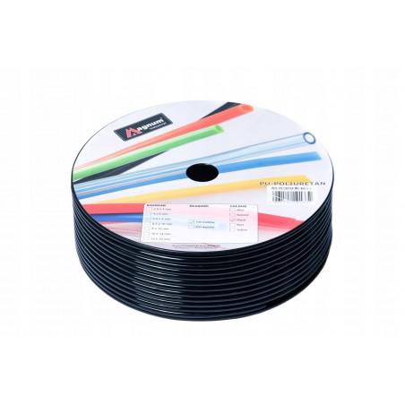 Przewód poliuretanowy MAGNUM 8x5,5 mm czarny