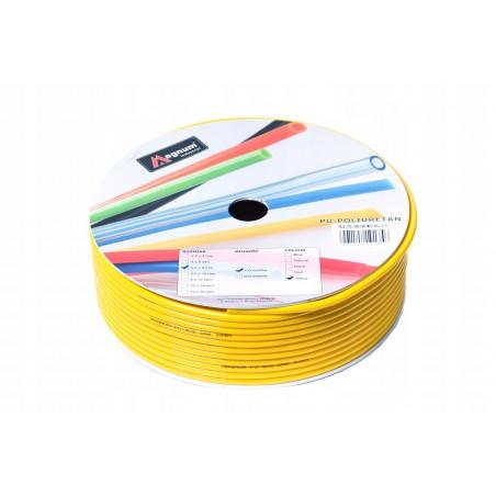Przewód poliuretanowy MAGNUM 6x4 mm żółty