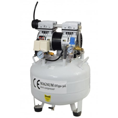 Kompresor bezolejowy MAGNUM DT-550/30