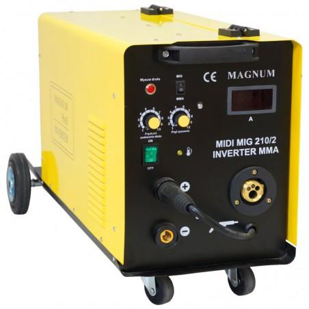 Półautomat spawalniczy MIDI MIG 210/2 MMA MAGNUM