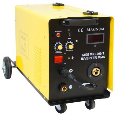 Półautomat spawalniczy MIDI MIG 200/3 MMA MAGNUM