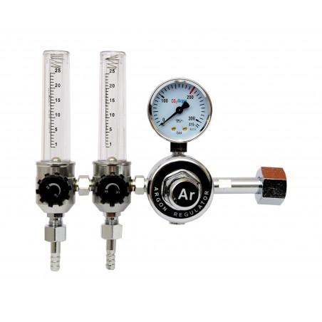 Reduktor butlowy do Ar/CO2 MAGNUM z rotametrami