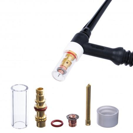 Zestaw standard TIG QUARTZ SR17/18/26 2,4mm MAGNUM